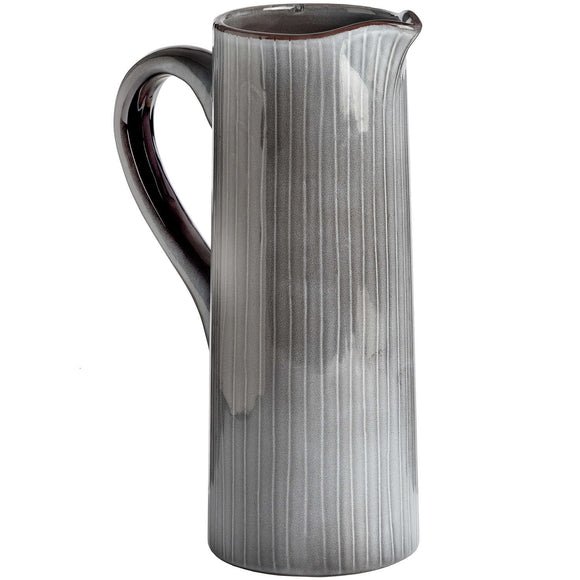 Ceramic Display Jug - Grey