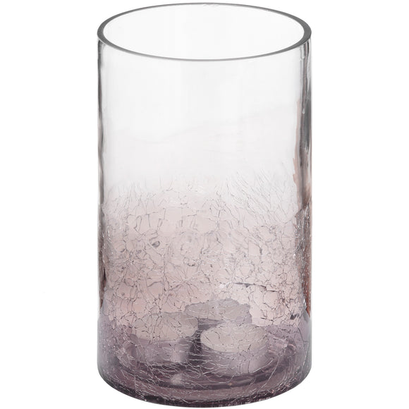 Christine's Additions Ombre Smoked Effect Hurricane Candle Holder - Large