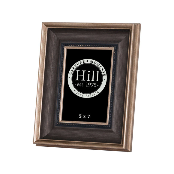 Christine's Antique Gold With Black Detail Photo Frame - 5X7