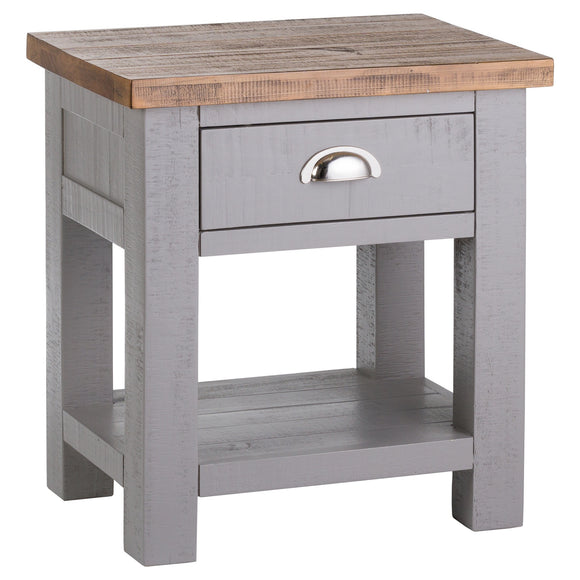 The Byron Collection Side Table - Grey