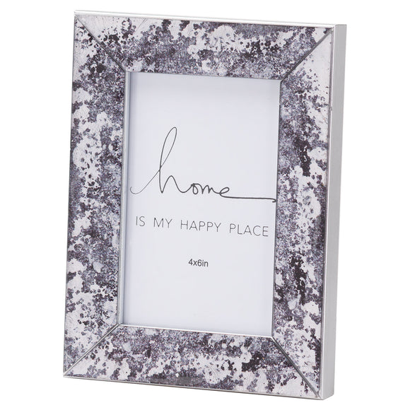 Christine's Black Foil Metallic Photo Frame - 4X6