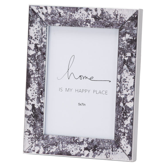 Christine's Black Foil Metallic Photo Frame - 5X7