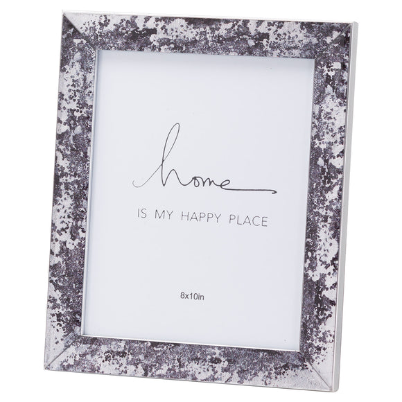 Christine's Black Foil Metallic Photo Frame - 8X10