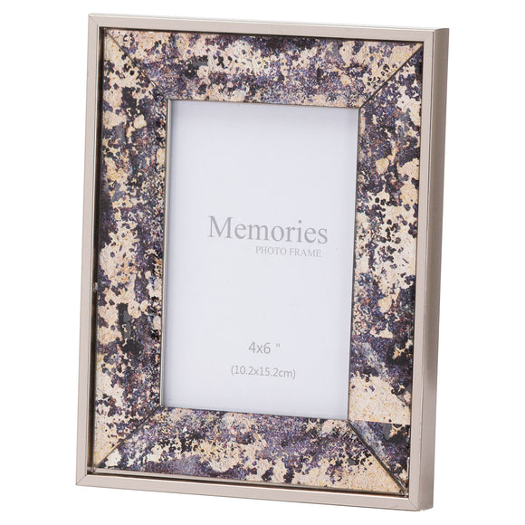 Christine's Bronze Foil Metallic Photo Frame - 4X6