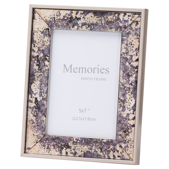 Christine's Bronze Foil Metallic Photo Frame - 5X7