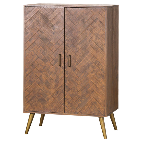 Harvey Collection Havana Drinks Cabinet