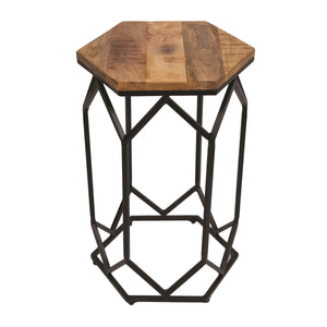 Soho Mango Wood Side Table