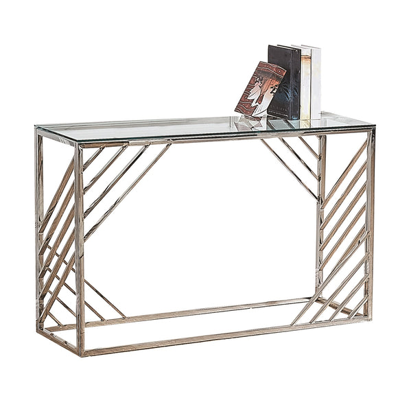 Regal Console Table - Silver