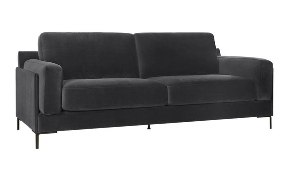 Martha 3-Seater Sofa - Dark Grey
