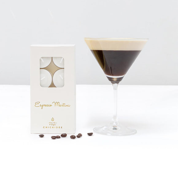 Espresso Martini Tealights by CHICKIDEE