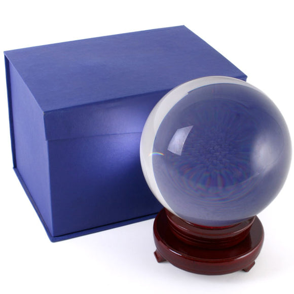 Crystal Ball with Stand - 15cm