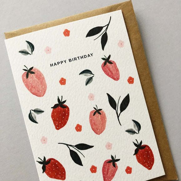 Happy Birthday Strawberries! By Chloe Hall