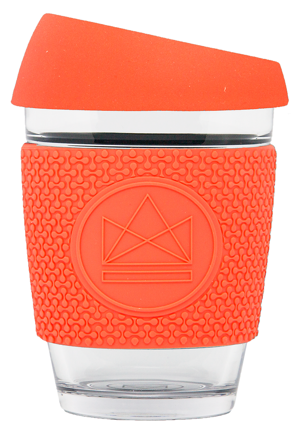 Neon Kactus Reusable Glass Cup - Dream Believer