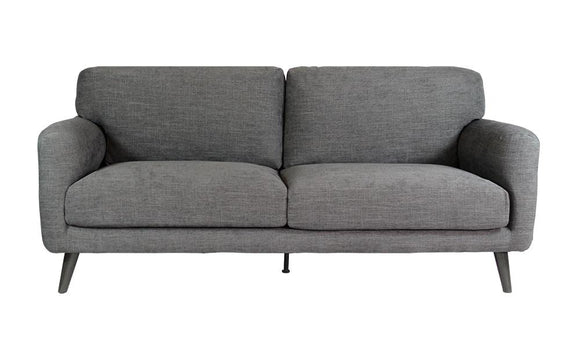 Harvey Collection Olivia 3-Seater Sofa - Dusky Grey