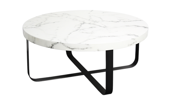 Kanpur Coffee Table - Marble Effect