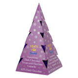 Keats Hazelnut Ganache Treats, Xmas Tree Box - Dark