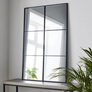 Texas Window Mirror - Black