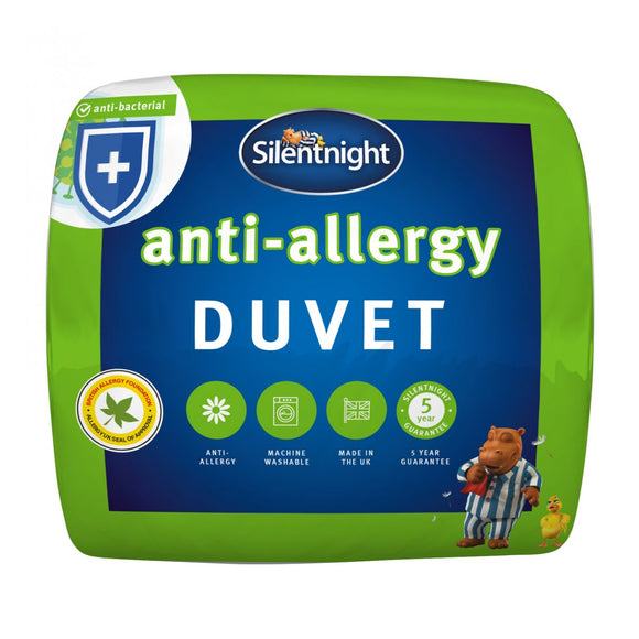 Silentnight Anti-Bacterial, Anti-Allergy Duvet - 13.5 Tog