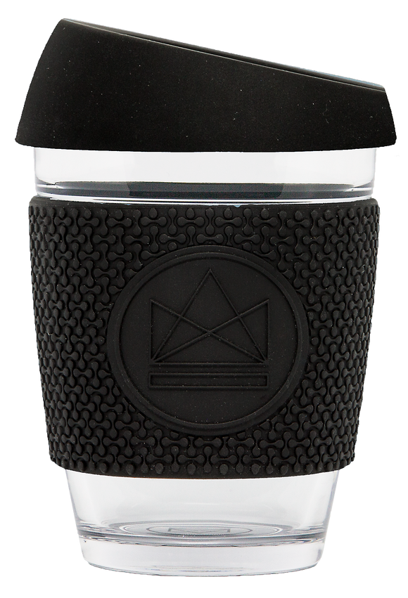 Neon Kactus Reusable Glass Cup - Rockstar