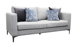 Rona 3-Seater Sofa - Light Grey