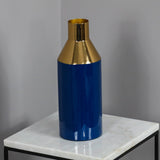 Gold Stem Living Blue Vase