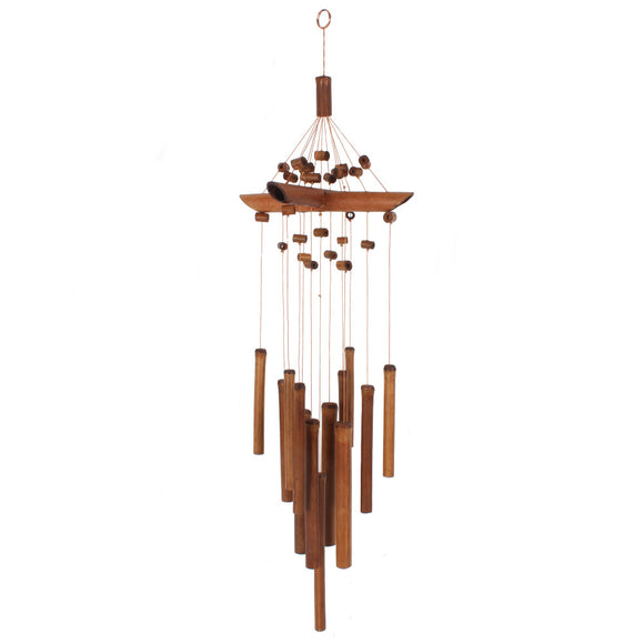 Bamboo Wind Chime with Beads