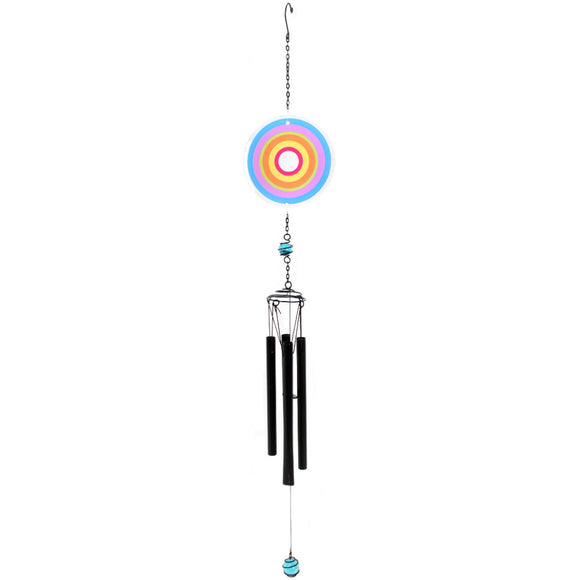Multi Circle Windchime - Blue