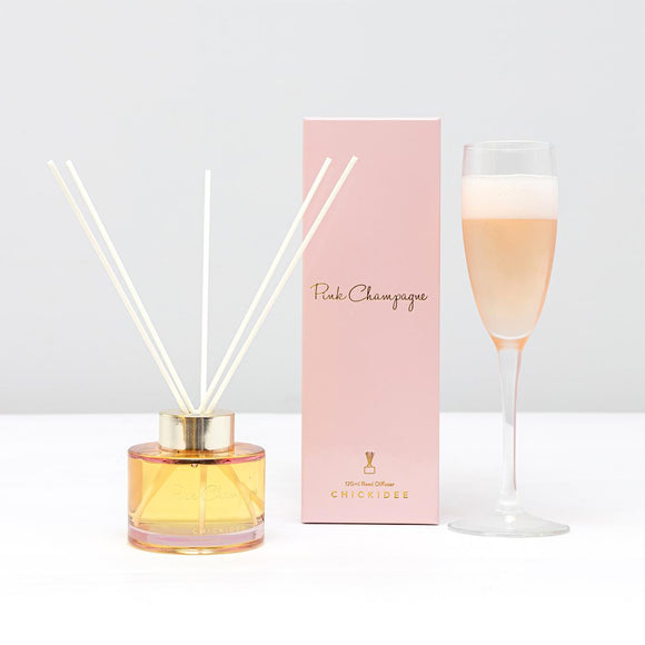 Pink Champagne Reed Diffuser By CHICKIDEE
