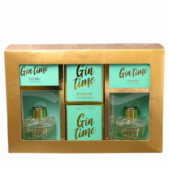 Brights Collection Gift Set - Gin Time