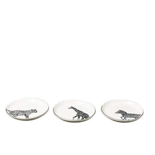 Animal Luxe Black & Gold Trinket Dish Assorted - 1 Supplied