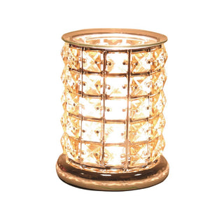 Christine's Crystal Touch Wax Melt Lamp - Amber