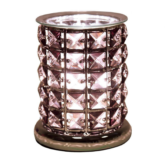 Christine's Crystal Touch Wax Melt Lamp - Black
