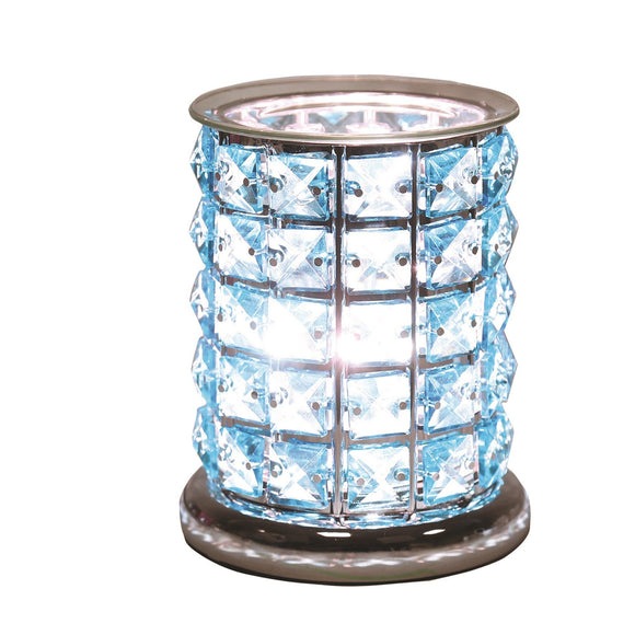 Christine's Crystal Touch Wax Melt Lamp - Blue