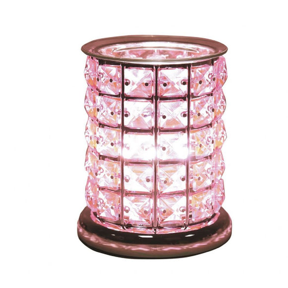 Christine's Crystal Touch Wax Melt Lamp - Pink