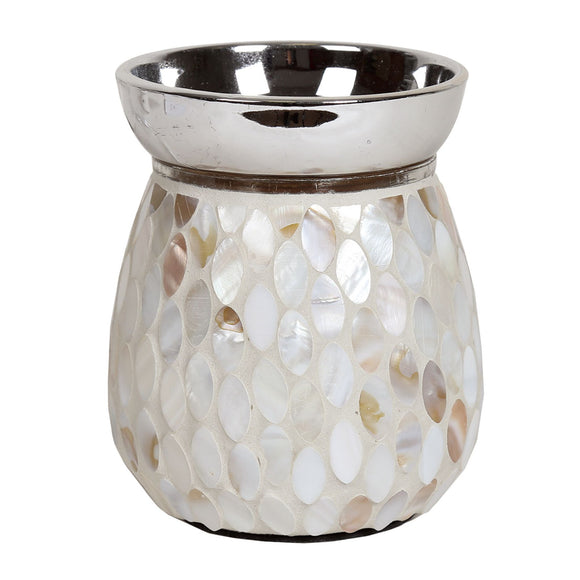 Christine's Electric Wax Melt Burner - Mother Pearl