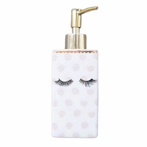 Eyelash Soap Dispenser - Pink
