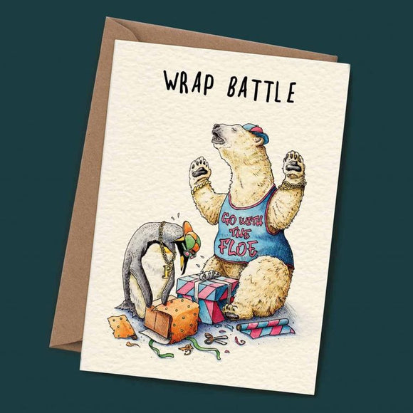 Wrap Battle By Bewilderbeest