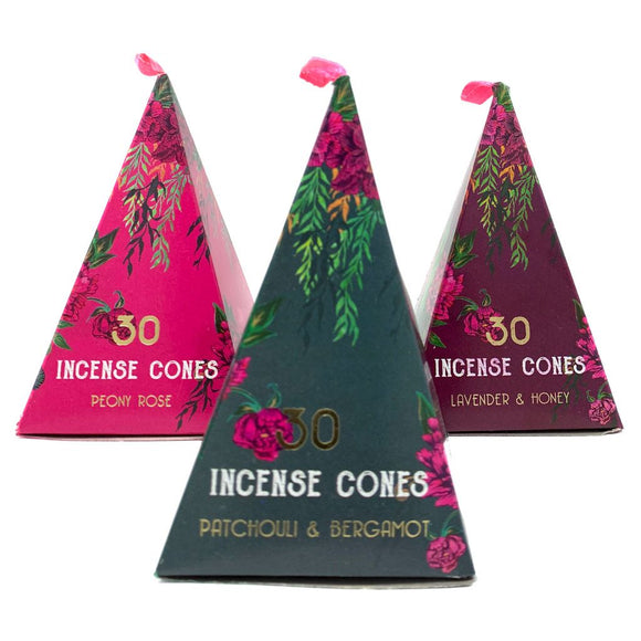 Oriental Incense Cones - 30 PCS