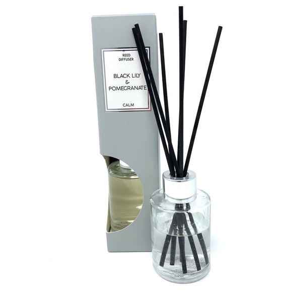 Reed Diffuser in Gift Box Black Lily and Pomegranate Scent 75ml