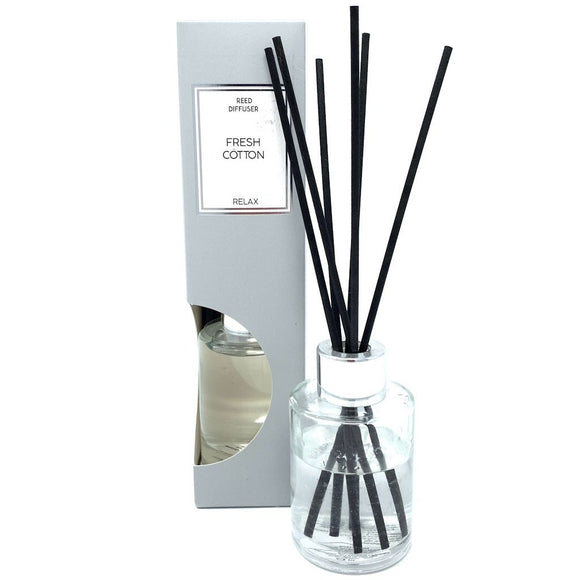 Reed Diffuser in Gift Box - Fresh Cotton Scent 75ml