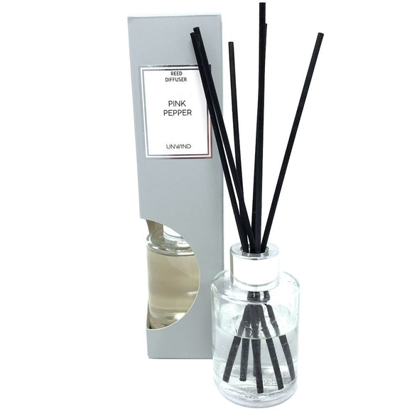 Reed Diffuser in Gift Box - Pink Pepper Scent 75ml