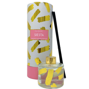 Siesta Reed Diffuser in Gift Box - Pineapple Scent 150ml