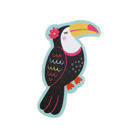 Tiki Toucan Nail File - Pack Of 3