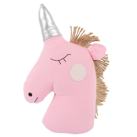 Unicorn Doorstop - Soft Pink