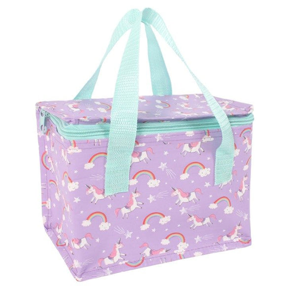 Unicorn Lunch Cool Bag - Lilac
