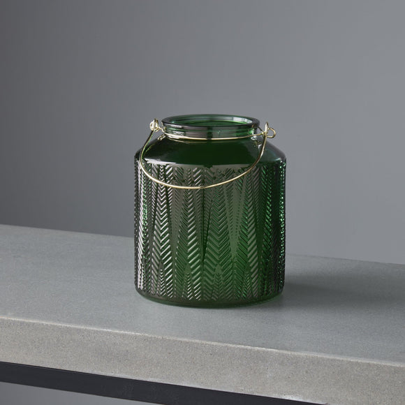 NH Verde Gold Handle Candle Holder