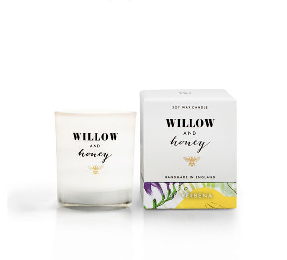 Willow & Honey Candle - Eau Verbena 60g