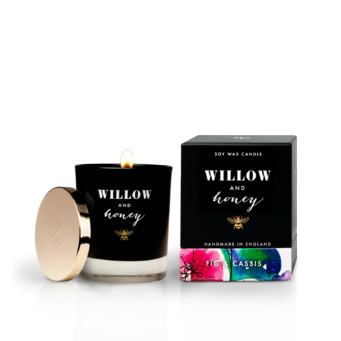 Willow & Honey Candle - Fig & Cassis 220g