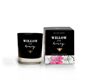 Willow & Honey Candle - Pink Pepper & Musk 60g