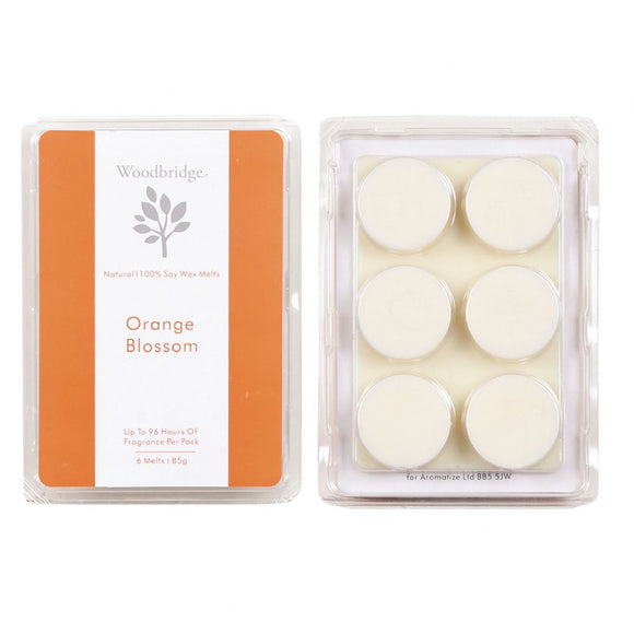 Woodbridge Soy Wax Melt 6 Pack - Orange Blossom